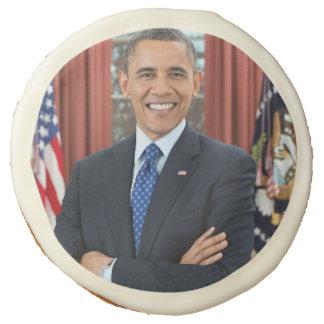 Barack Obama Sugar Cookie
