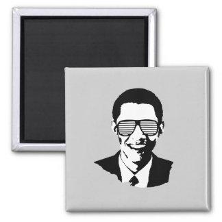 Barack Obama Sunglasses 2 Inch Square Magnet
