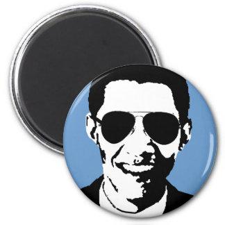 Barack Obama sunglasses 2 Inch Round Magnet