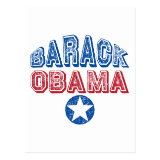 Barack Obama Super Star Presidential Tees Gifts Postcard