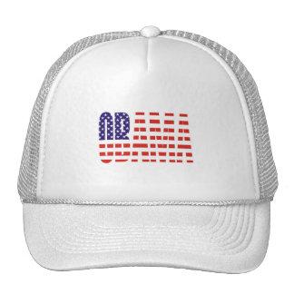 Barack Obama Support USA Flag Tees Gifts Trucker Hat