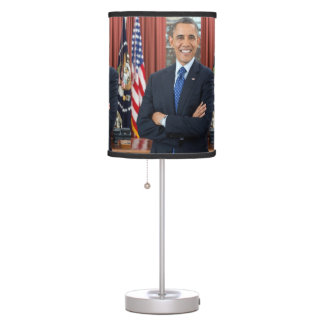 Barack Obama Table Lamp