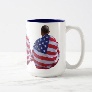 Barack Obama Taza Dos Tonos