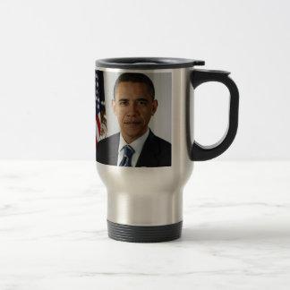 Barack Obama Taza De Viaje