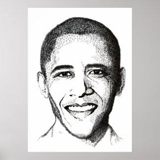 Barack Obama - Ten Commandments Posters