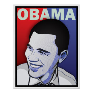 Barack Obama - That One Giant Inauguration Poster