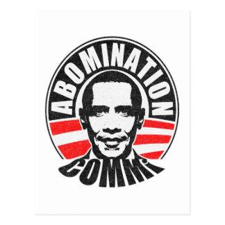 Barack Obama The Communist Postcard