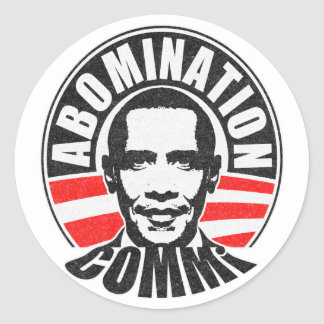 Barack Obama The Communist Stickers