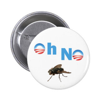 Barack Obama the Fly Killer 2 Inch Round Button