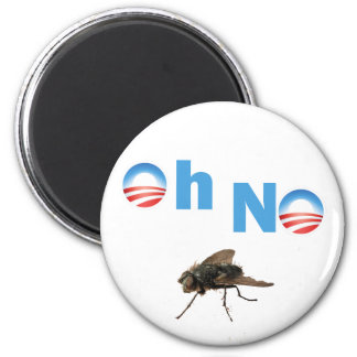 Barack Obama the Fly Killer 2 Inch Round Magnet