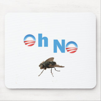 Barack Obama the Fly Killer Mouse Pad