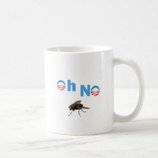 Barack Obama the Fly Killer Mugs