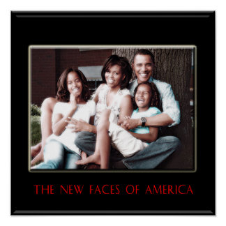 BARACK OBAMA: THE NEW FIRST FAMILY POSTER