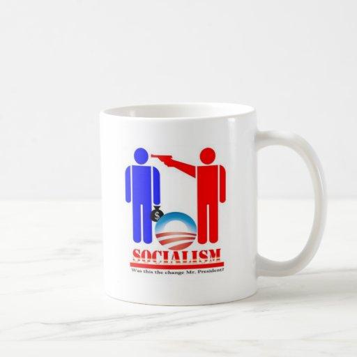 Barack Obama the Socialist Coffee Mug