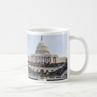 Barack Obama THE SWEARING-IN on Capitol Hill Classic White Coffee Mug