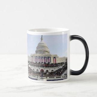 Barack Obama THE SWEARING-IN US CAPITOL 11 Oz Magic Heat Color-Changing Coffee Mug