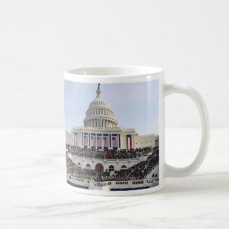 Barack  Obama THE SWEARING-IN US CAPITOL Souvenir Classic White Coffee Mug
