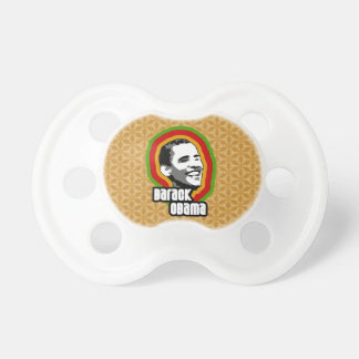 Barack Obama Throwback BooginHead Pacifier