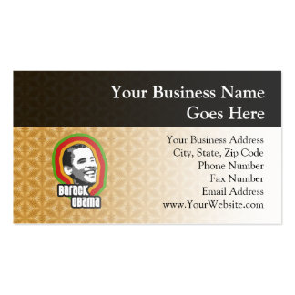 Barack Obama Throwback Double-Sided Standard Business Cards (Pack Of 100)