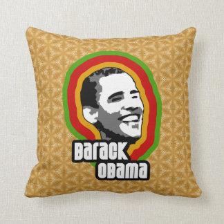Barack Obama Throwback Throw Pillows