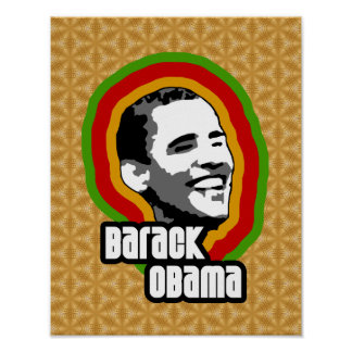 Barack Obama Throwback Poster