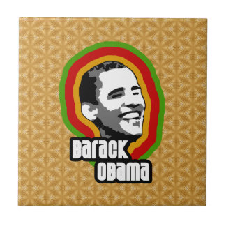 Barack Obama Throwback Tile