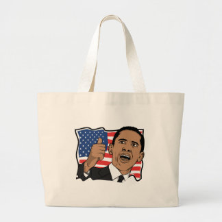 Barack Obama Thumbs Up Canvas Bags