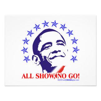 Barack Obama toda la demostración ninguna va Comunicados Personales