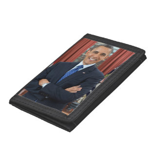 Barack Obama Tri-fold Wallets