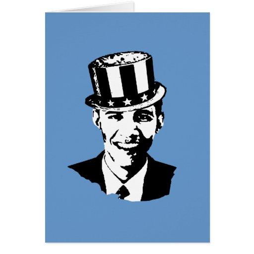 Barack Obama Uncle Sam Card