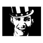 Barack Obama Uncle Sam Postcards
