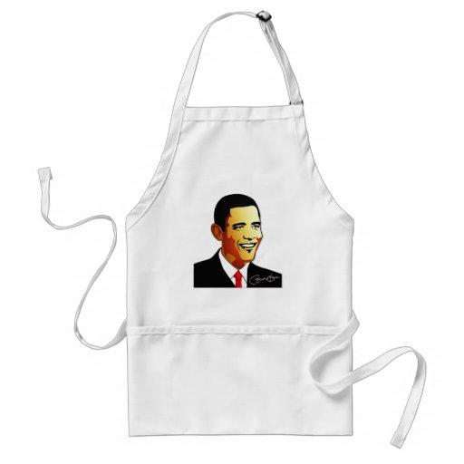 Barack Obama Vector Illustration Aprons