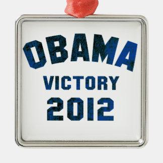 Barack Obama Victory 2012 Christmas Ornaments