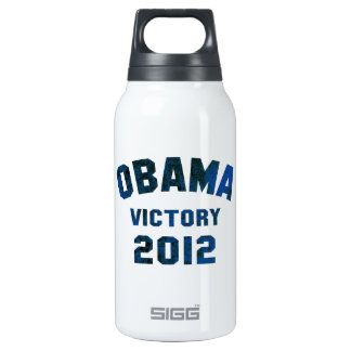 Barack Obama Victory 2012 Insulated Water Bottle