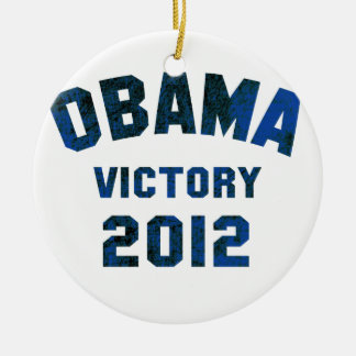 Barack Obama Victory 2012 Ornaments