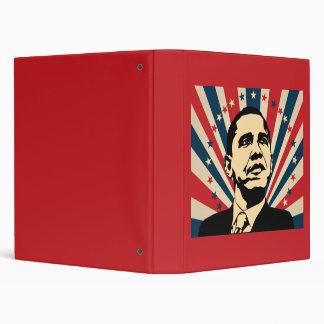 Barack Obama Vinyl Binder