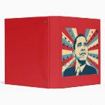 Barack Obama Vinyl Binders
