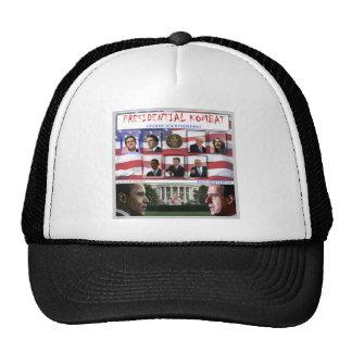 Barack Obama vs Rick Santorum Trucker Hats
