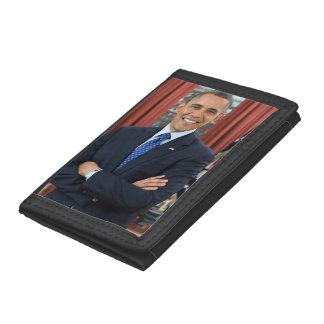 Barack Obama Trifold Wallets