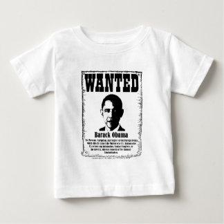 Barack Obama Wanted Poster Baby T-Shirt