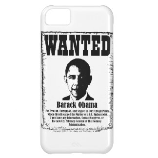 Barack Obama Wanted Poster iPhone 5C Cover