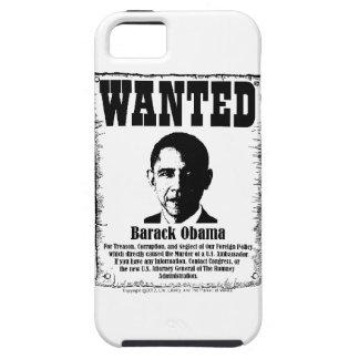 Barack Obama Wanted Poster iPhone SE/5/5s Case