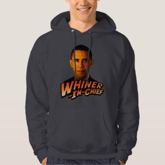 Barack Obama Whiner-In-Chief Sweatshirt