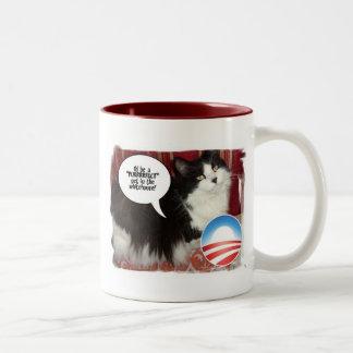 Barack Obama White-House Pet Two-Tone Coffee Mug