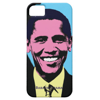 Barack Obama with Andy Warhol Pop Art Style iPhone 5 Cover