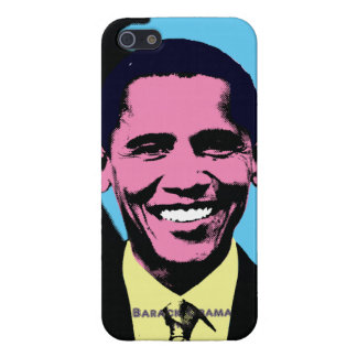 Barack Obama with Andy Warhol Pop Art Style iPhone 5 Covers