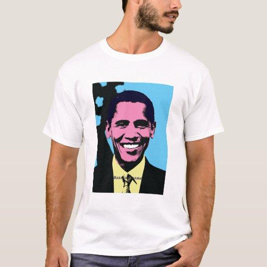 Barack Obama with Pop Art Style T-Shirt