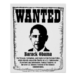 Barack Obama X-Large Wanted Poster