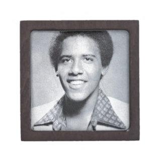 Barack Obama Yearbook Photo Gift Box