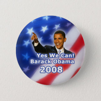 Barack Obama Yes We Can Button